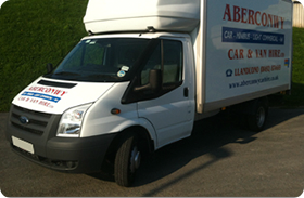 Luton Box Van with Tail Lift